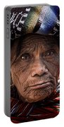 Old Woman Of Chichicastenango Portable Battery Charger
