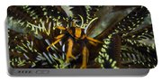 Orange And Brown Elegant Squat Lobster Portable Battery Charger