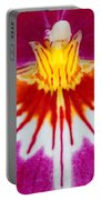 Orchid Closeup Portable Battery Charger