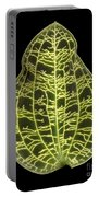 Orchid Leaf Portable Battery Charger
