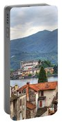 Orta - Overlooking The Island Of San Giulio Portable Battery Charger