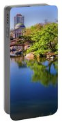 Osaka Japanese Garden Portable Battery Charger by Jonah  Anderson