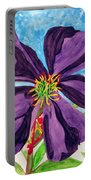 Our Very Bold Tibouchina Portable Battery Charger