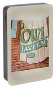 Owl Tavern Portable Battery Charger