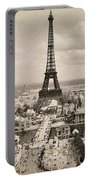 Paris: Eiffel Tower, 1900 Portable Battery Charger