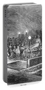 Paris: Sewers, 1869 Portable Battery Charger