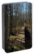 Path Into The Woods Portable Battery Charger