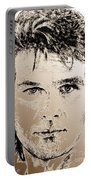 Patrick Swayze In 1989 Portable Battery Charger