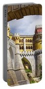 Pena Palace Portable Battery Charger by Carlos Caetano