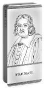 Pierre De Fermat, French Mathematician Portable Battery Charger by Science Source