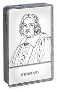 Pierre De Fermat, French Mathematician Portable Battery Charger