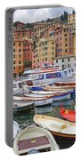 Port Of Camogli Portable Battery Charger by Joana Kruse