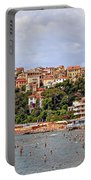 Porto Maurizio - Liguria Portable Battery Charger by Joana Kruse