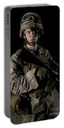 Portrait Of A U.s. Marine Wearing Night Portable Battery Charger