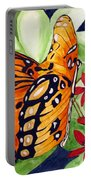 Precocious Butterfly Portable Battery Charger