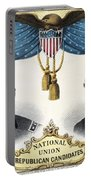 Presidential Campaign, 1868 Portable Battery Charger