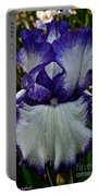 Purple Ruffles Portable Battery Charger