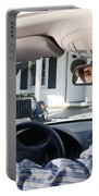 Rear-view Mirror Portable Battery Charger