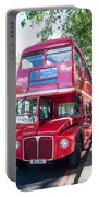 Red London Bus Portable Battery Charger