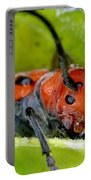 Red Milkweed Beetle Portable Battery Charger