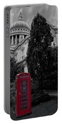 Red Telephone Box Portable Battery Charger