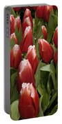 Red Tulip Heaven Portable Battery Charger