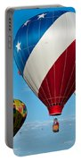 Red White And Balloons Portable Battery Charger