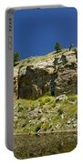 Reflecting Cliffs Portable Battery Charger