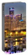 Renaissance Center Detroit Mi Portable Battery Charger