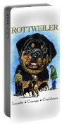 Rottweiler Portable Battery Charger