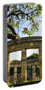 Rotunda Of Illustrious Jalisciences And Guadalajara Cathedral Portable Battery Charger