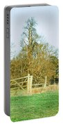 Rural Scene Portable Battery Charger