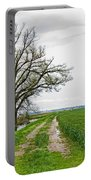 Rural Trees Vii Portable Battery Charger