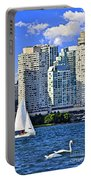 Sailing In Toronto Harbor Portable Battery Charger