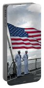 Sailors Stand At Parade Rest Portable Battery Charger