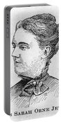 Sarah Orne Jewett Portable Battery Charger