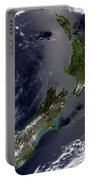 Satellite View Of New Zealand Portable Battery Charger