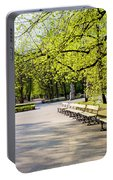 Saxon Garden In Warsaw Portable Battery Charger