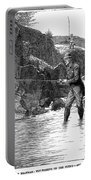 Scotland: Fishing, 1880 Portable Battery Charger