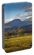 Scottish Landscape View Portable Battery Charger