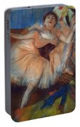 Seated Dancer Portable Battery Charger