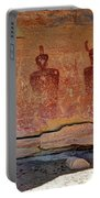 Sego Canyon Indian Petroglyphs And Pictographs Portable Battery Charger