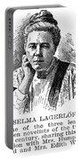 Selma Lagerlof (1858-1940) Portable Battery Charger