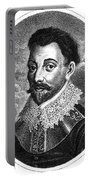 Sir Francis Drake, English Explorer Portable Battery Charger by Photo Researchers