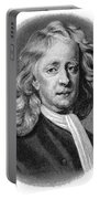 Sir Isaac Newton (1643-1727) Portable Battery Charger