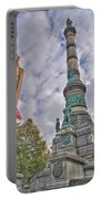 Soldiers And Sailors Monument In Lafayette Square Portable Battery Charger
