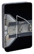 Space Shuttle Atlantis Backdropped Portable Battery Charger