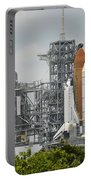Space Shuttle Endeavour On The Launch Portable Battery Charger