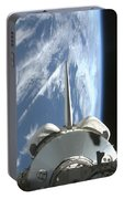 Space Shuttle Endeavours Payload Bay Portable Battery Charger