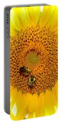 Spider And The Bees Portable Battery Charger